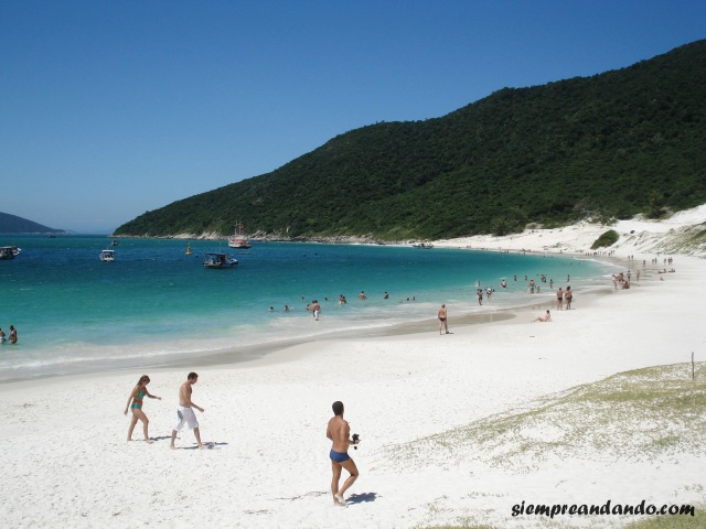 Las paradisíacas playas de Arraial Do Cabo.