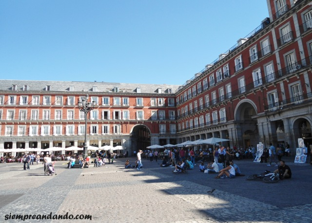 La Plaza Mayor