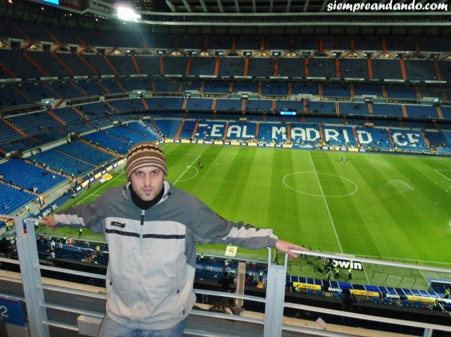 En el Santiago Bernabéu