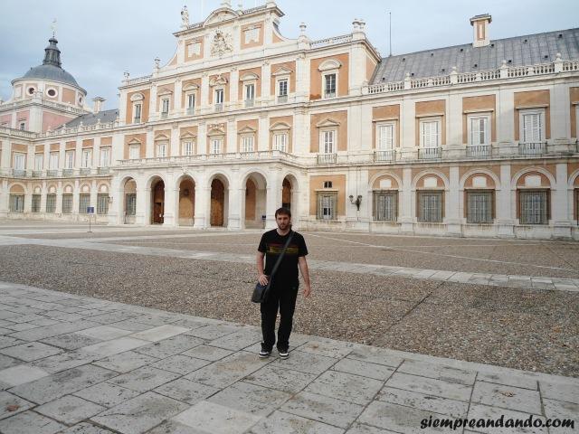 En el Palacio Real, Aranjuez