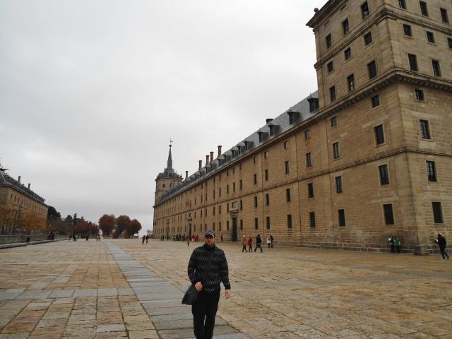 En el Monasterio de San Lorenzo de El Escorial