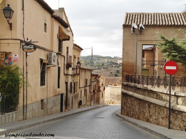 Una de las calles de Toledo.