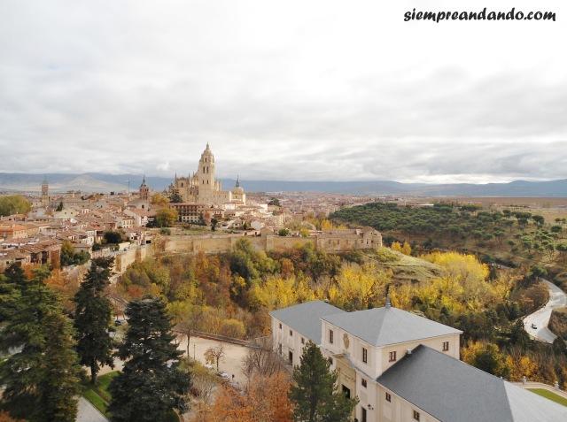 La vista de la ciudad desde el Alcázar
