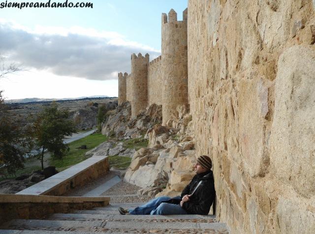 El exterior de las murallas