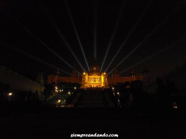 El Palacio Nacional de Montjuic