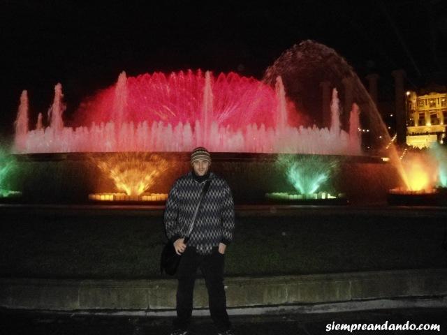 En la Fuente Mágica de Montjuic