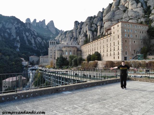 En el monasterio de Montserrat