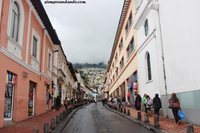 Una de las calles del casco antiguo