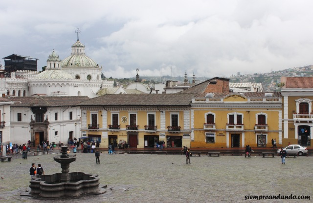 La Plaza Grande, el corazón de la ciudad vieja