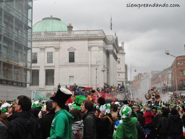 El desfile del Día de San Patricio