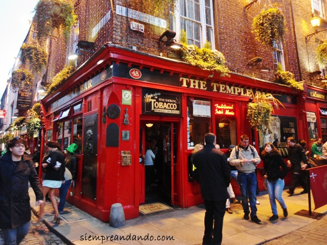 El mítico The Temple Bar.