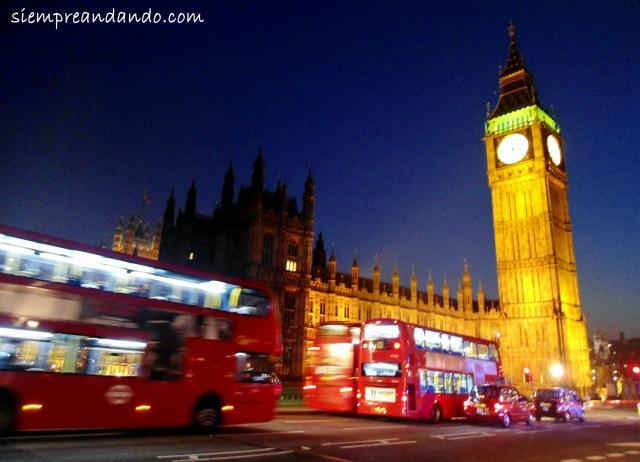 Big Ben y el Parlamento.