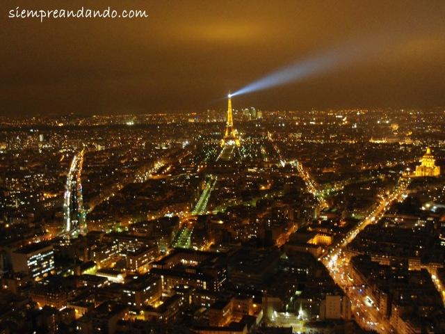 Desde lo alto de la torre Montparnasse