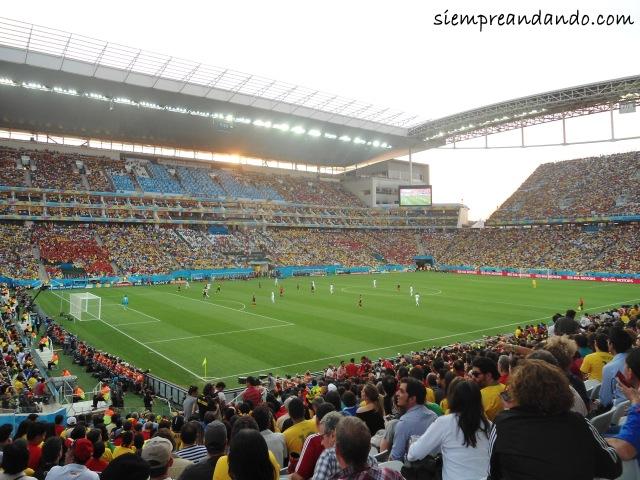 Bélgica vs Corea del Sur en la Arena Corinthians
