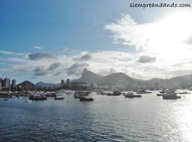 Una postal de Río de Janeiro.