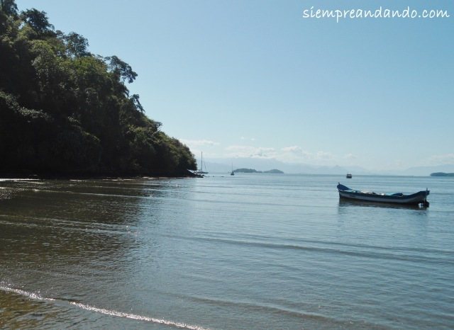 Playa de Paraty.