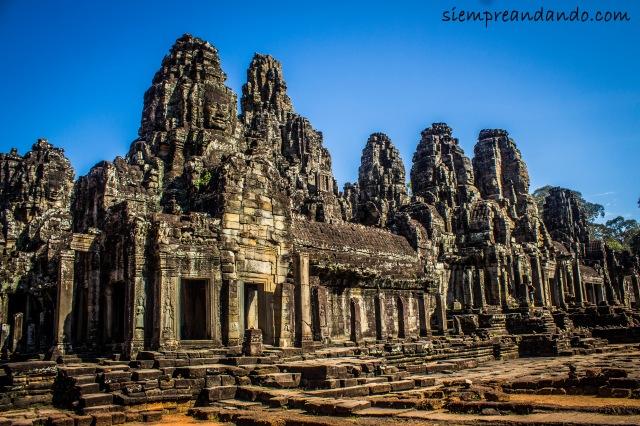 Templo de Bayón, Angkor, Camboya (2015).