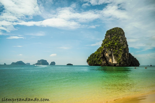Playa de Railay (2015).