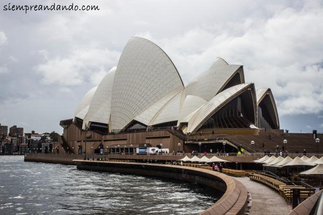 Opera House, Sydney (2105).