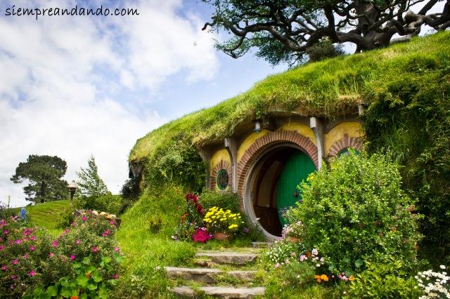 La casa de Bilbo Bolsón.