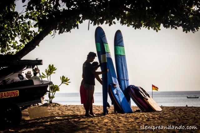 Surf y Kuta: sinónimos.